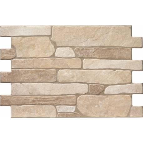 Carrelage parement de briques irrégulières bigstone 40x57cm