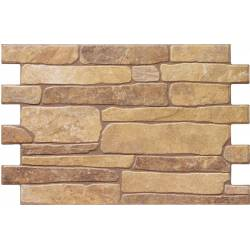 Carrelage parement aspect brique beige bigstone 40x57cm