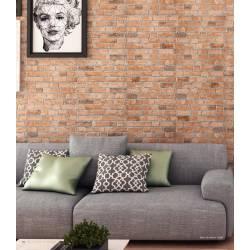 Brick Castanho 33x47