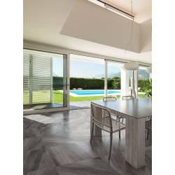 Carrelage luxe marbre gris flandes 60x60cm rectifié semi-poli
