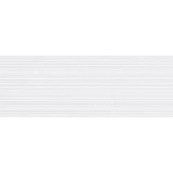 Branco Brilho Lines Rectifié 30X90