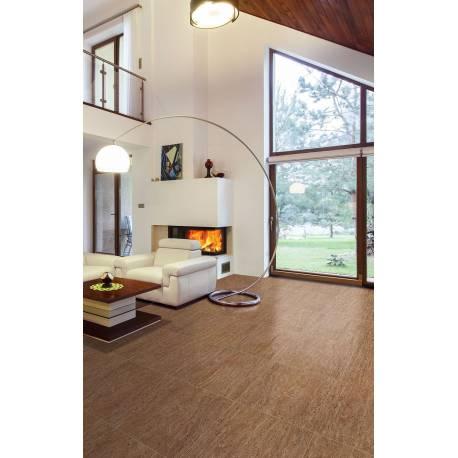 Carrelage carré marron tivoli 60x60cm rectifié semi-poli