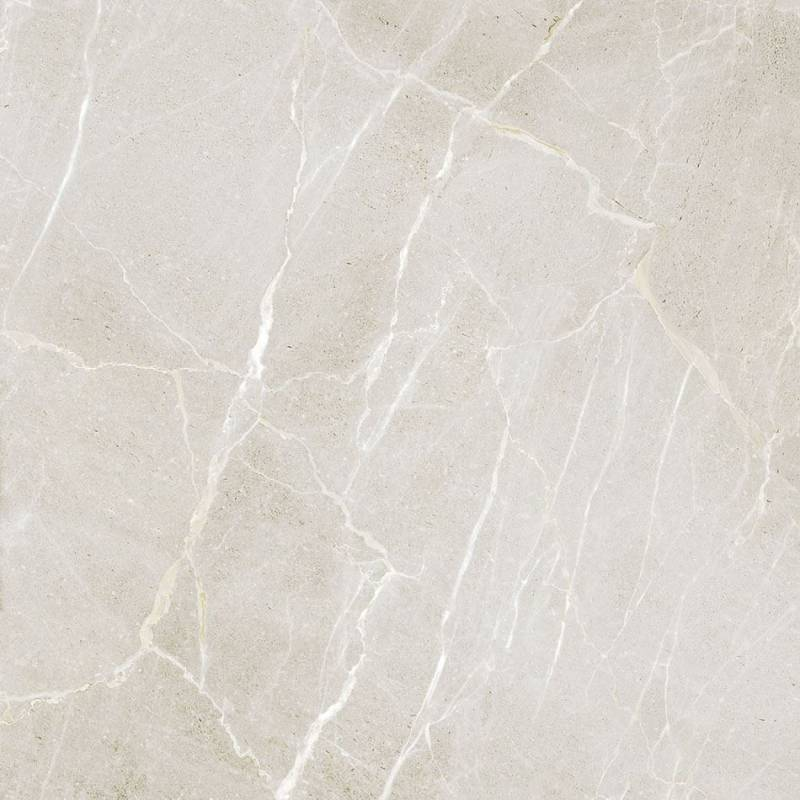 Carrelage marbre intense blanc pre 60x60cm rectifi brillant for Carrelage brillant