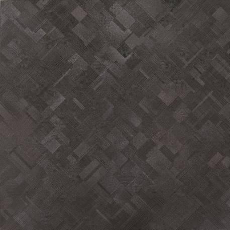 Carrelage exclusive noir manhattan 80x80cm rectifié