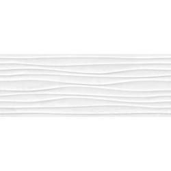 Plaster Wave White 25X70