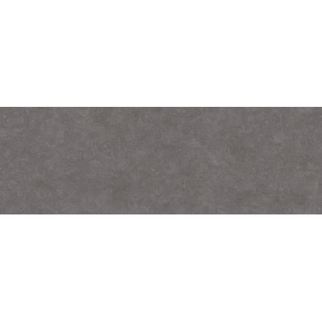 Faïence allongée noire microcemento 30x90cm rectifié mat