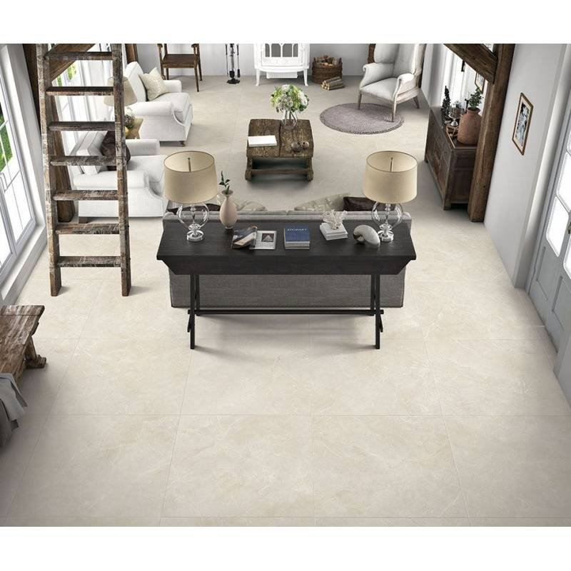 carrelage grand format beige dinamarca 80x80cm rectifi. Black Bedroom Furniture Sets. Home Design Ideas