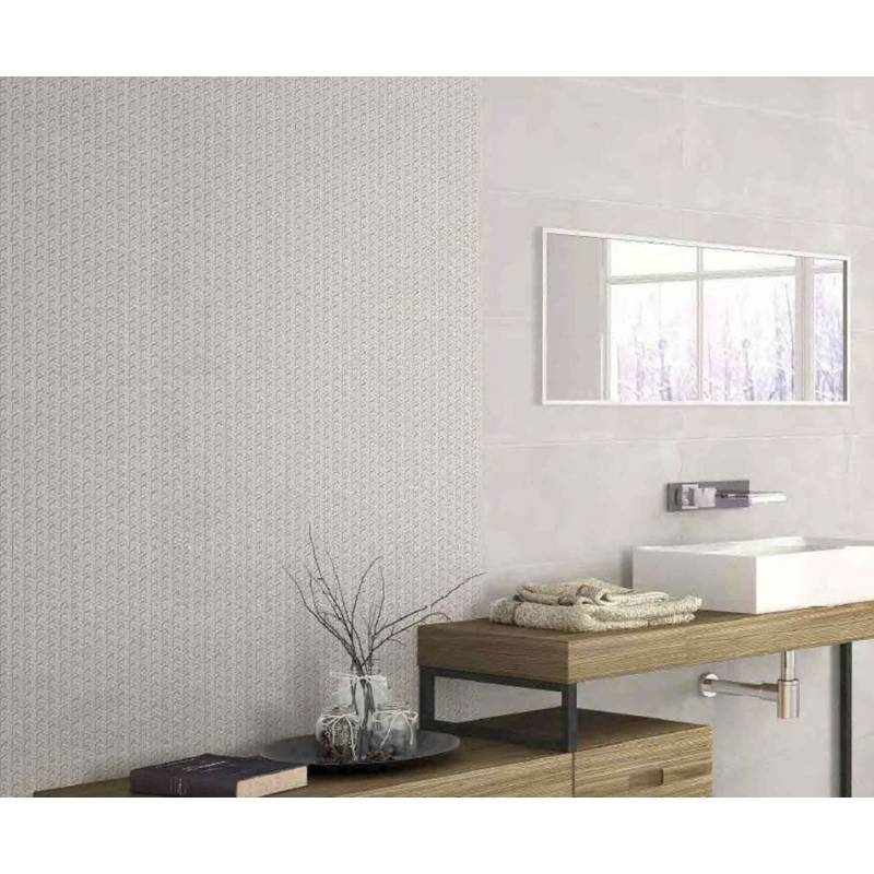 Carrelage gris clair fum baltico 30x60cm rectifi brillant for Carrelage 30x60 gris