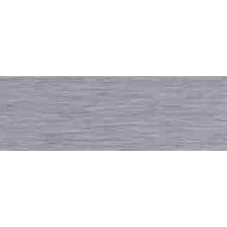 Faïence salle de bain gris texturé teide 25x75cm brillant