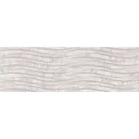 Faïence salle de bain vagues vintage narbona 25x75cm satiné
