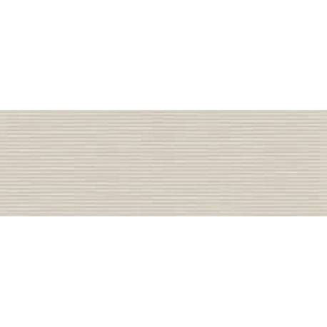 Faïence douche tradi strié beige style 20X60cm brillant