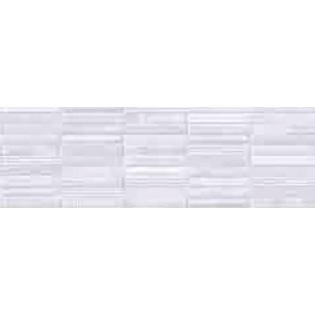 Faïence douche classique blanc style 20X60cm brillant