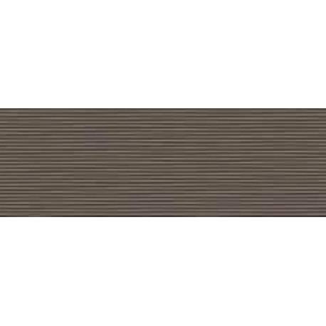 Faïence douche déco marron style 20X60cm brillant
