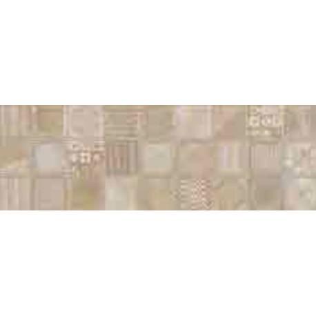 Faïence motifs marrons victoria 20X60cm brillant