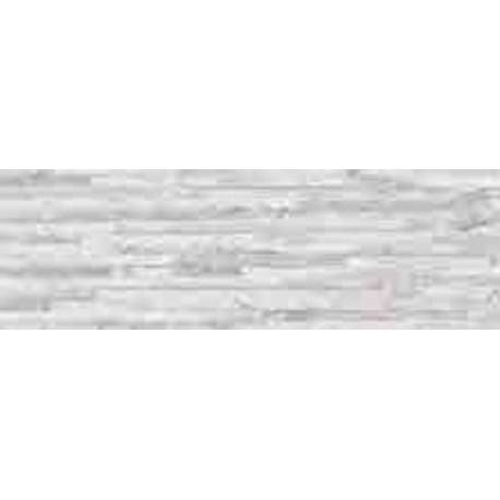 Faïence briquette blanche ontario 19X57cm mat