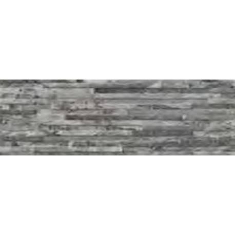 Faïence briquette grise ontario 19X57cm mat