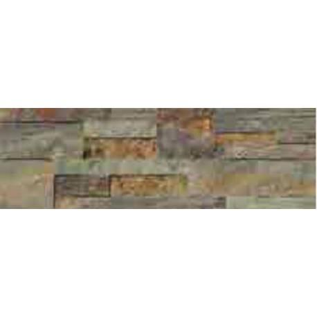 Faïence briques natural baikal 19X57cm mat