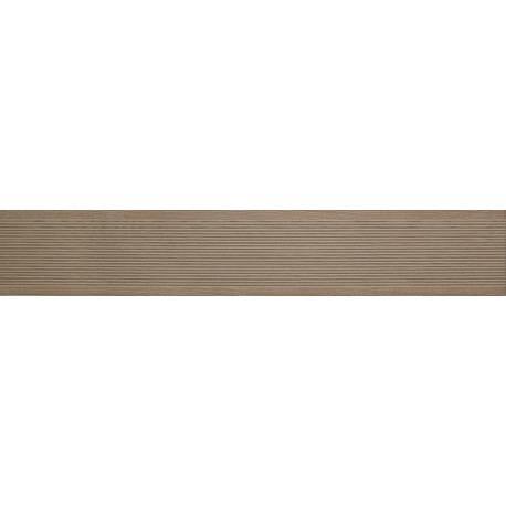 Carrelage deck anti-dérapant taupe long ext 20x120cm