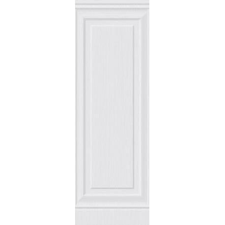 Faïence imitation moulure blanche menorca 30x90cm rectifié brillant