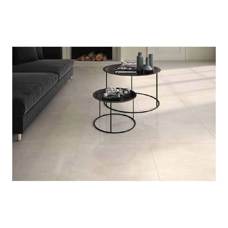 carrelage effet blanc trento 60x60cm rectifi brillant. Black Bedroom Furniture Sets. Home Design Ideas