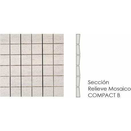 Compact Mosaico Ivory B 30x30