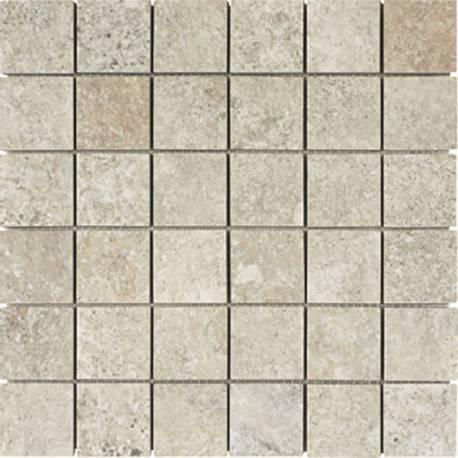 Pedra Mosaico Blanco 30x30