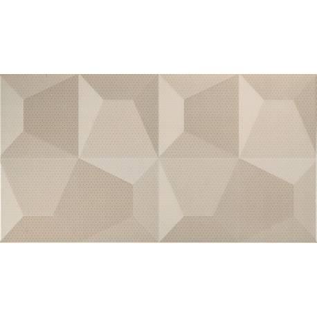 Cube Crema Relieve 32.5x60