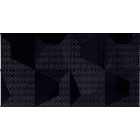 Cube Negro Relieve 32.5x60