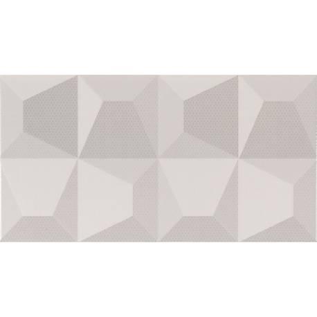 Cube Blanco Relieve 32.5x60