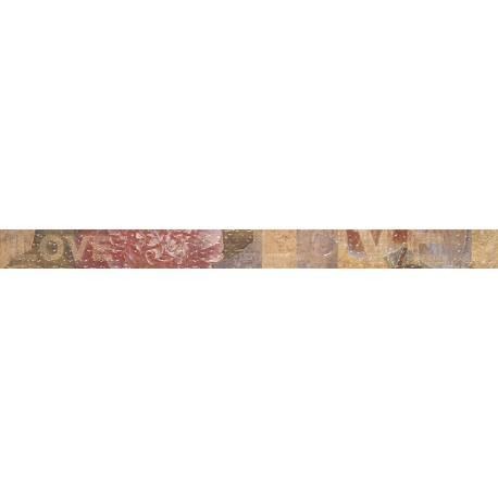 Luxe Liston Cream Flor 5x60