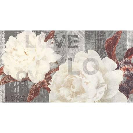 Luxe Décor White Flor A 32.5x60