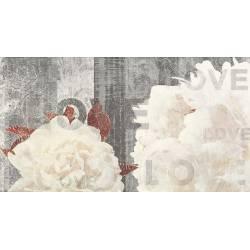 Luxe Décor White Flor B 32.5x60
