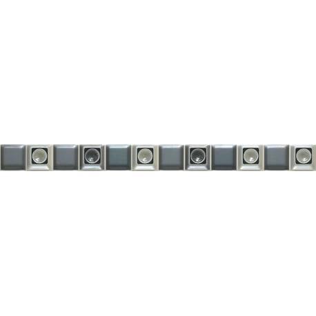 Luxe Mosaico Black 20x60