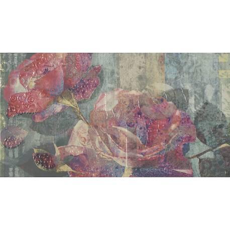 Luxe Décor Sky Blue Flor A 32.5x60