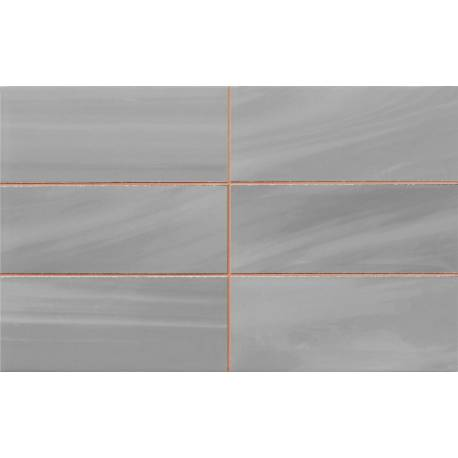 Carrelage rev glass 25x40 gris for Carrelage 25x40