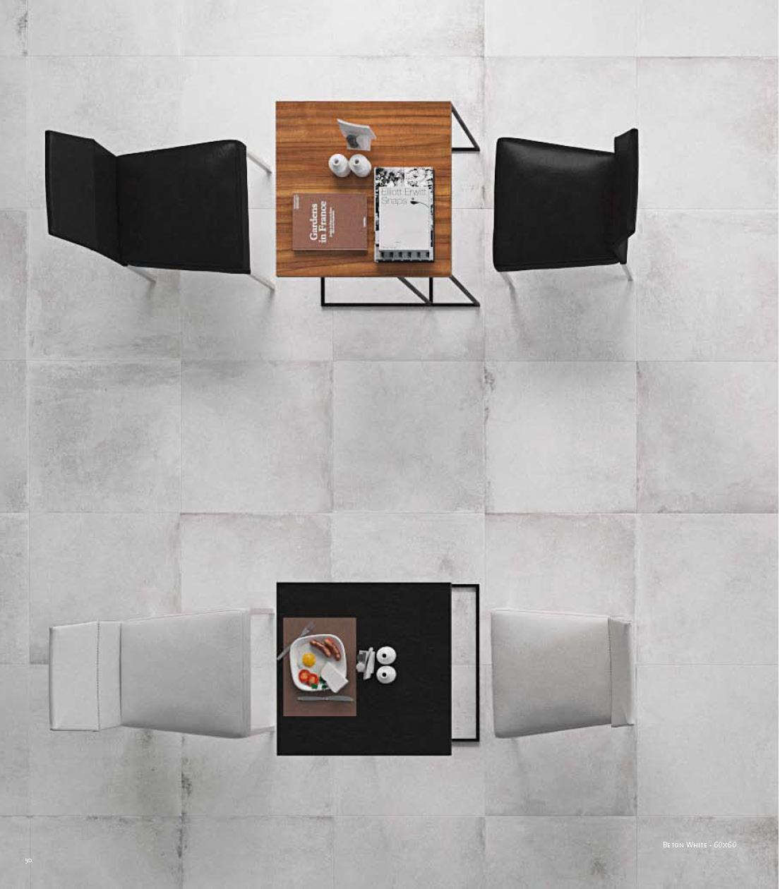 Béton White 60x60 rectifié
