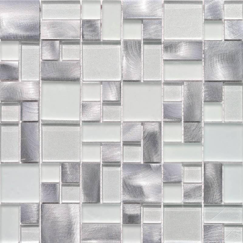 Carrelage modulo eidos 30x30 plata for Ceramica leroy merlin