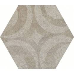 CLN-Arizona Grey Decor Hex 25 25x22