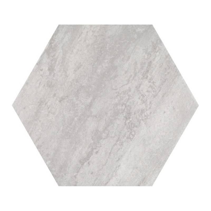 carrelage hexagonal tons gris beiges codicer 95 concrete white hex 25 25x22cm. Black Bedroom Furniture Sets. Home Design Ideas