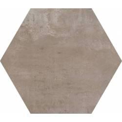 Concrete Urban Moka Hex 25 25x22