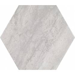 Concrete Urban White Hex 25 25x22