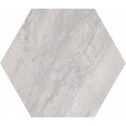 Concrete Urban White Hex 25 25x22