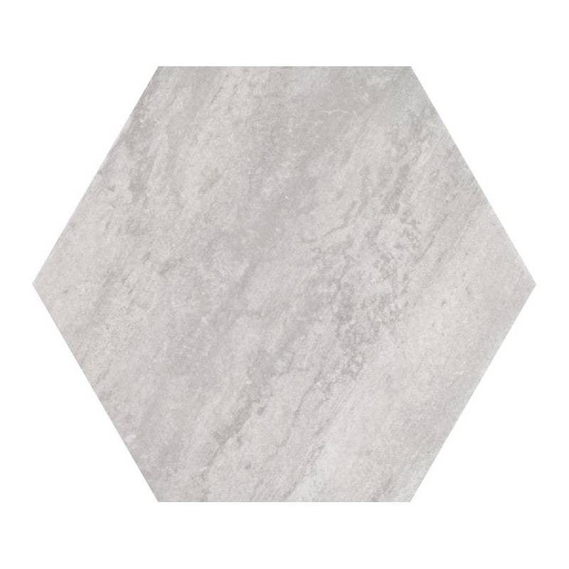 Carrelage hexagonal tons gris beiges codicer 95 concrete for Carrelage hexagonal marbre