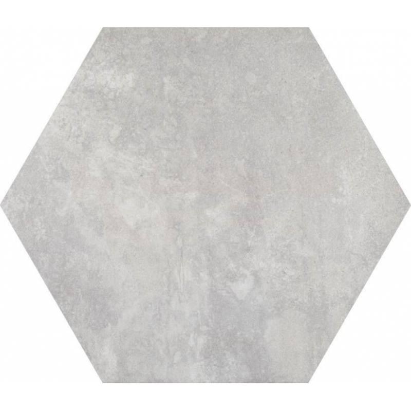 carrelage hexagonal tons gris beiges codicer 95 concrete urban white hex 25 25x22cm. Black Bedroom Furniture Sets. Home Design Ideas