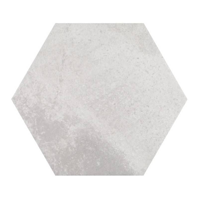 Carrelage hexagonal tons gris beiges codicer 95 concrete for Carrelage urban white