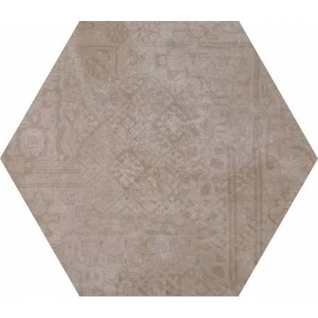 Carrelage Hexagonal Tons Gris Beiges Codicer Concrete Moka Hex - Carrelage hexagonal gris