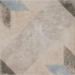 Pompei Star Blue 25x25