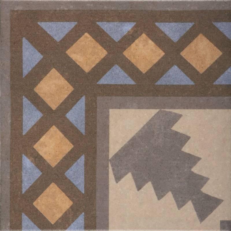 Carrelage aspect carreau ciment r tro d co motifs for Carrelage motif retro