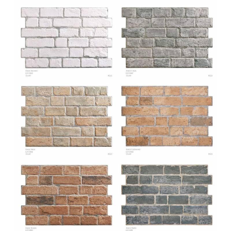 Les parements briques