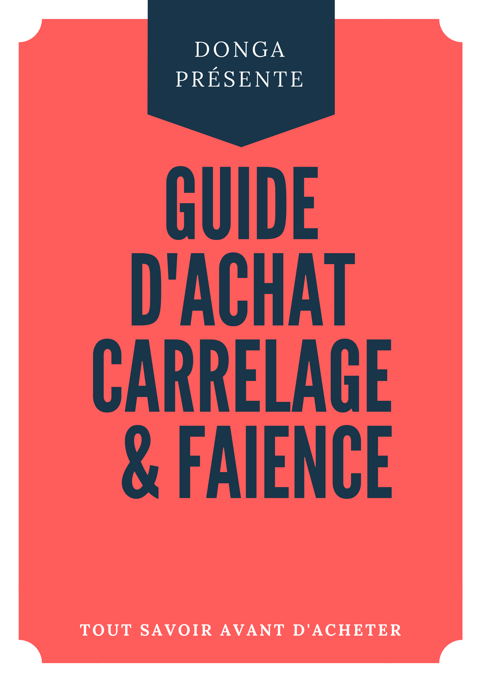 Guide D Achat Carrelage Pas Cher Donga Carrelage